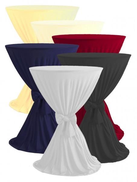 Tisch-Husse - Polyester - weiß - Serie Carmen