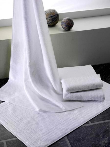 Frottiertuch - Baumwolle - weiß - Serie Luxor
