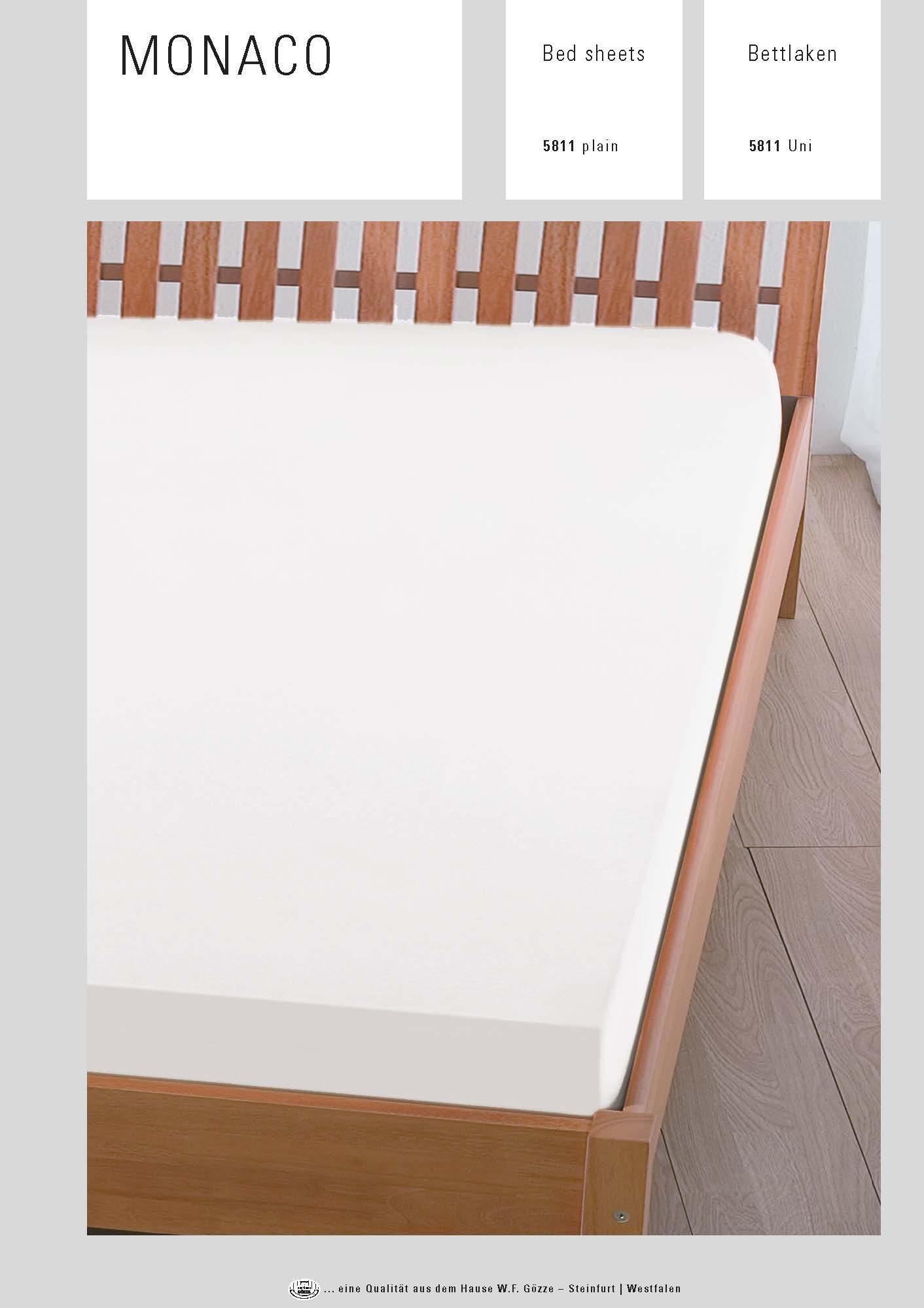 bettlaken baumwolle wei serie monaco renforce. Black Bedroom Furniture Sets. Home Design Ideas
