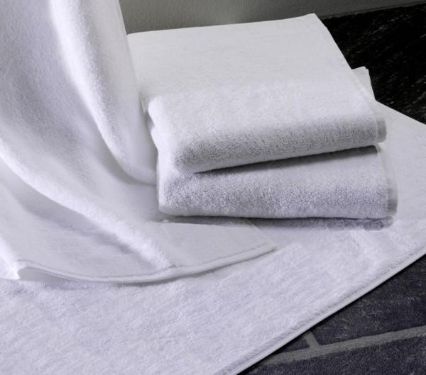 Frottiertuch - Baumwolle / Polyester - weiß