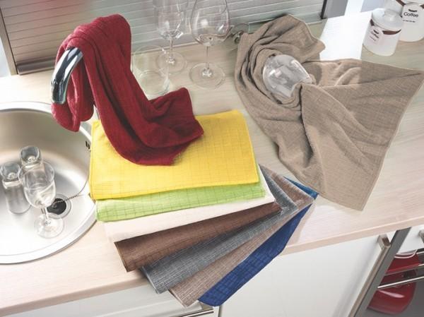 Küchentuch - Pes-Mikrofaser - creme